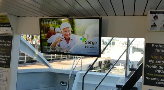 foto anuncio en el barco
